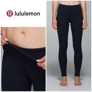 Lululemon Wunder Under Pant Roll Down High Rise 2